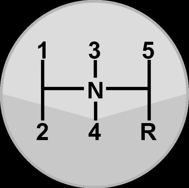 マニュアルミッションのHパターン