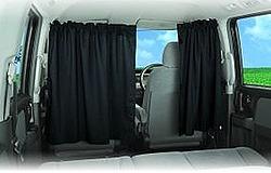 ゼンポー 車用 着脱簡単カーテン