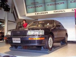 セルシオ、4500GT、ユーノス・コスモ…バブル期のモーターショーの出展車達!現代とどう違う?