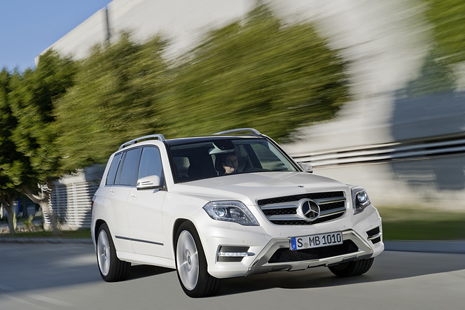 メルセデス GLK 350 4MATIC BlueEFFICIENCY