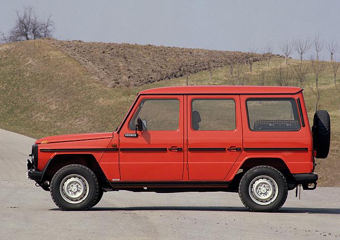 メルセデス Gクラス(W460)1982年