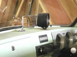 フェアレディ1500、ヨタハチ…ミラーがダッシュボードの上についていたのは何故?