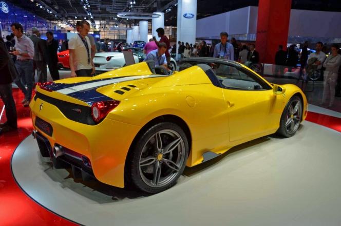 フェラーリ 458スペチアーレA