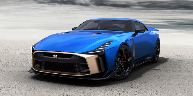 日産 GT-R50 by Italdesign