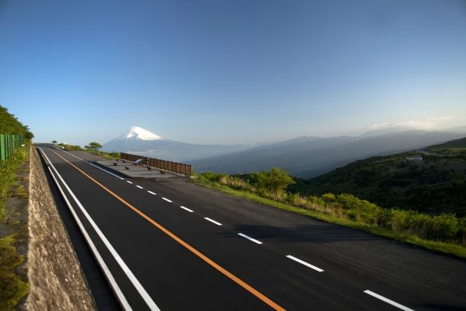 伊豆スカイライン 道路
