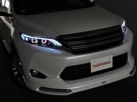 キリリとしたヘッドランプでワンランク上の存在感~注目のハリアー用LEDヘッドライト