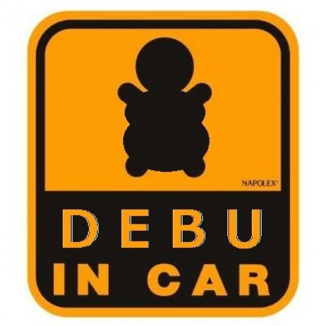 DEBU IN CAR