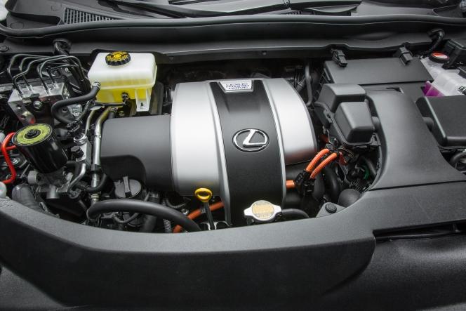 トヨタ RX450h アトキンソンサイクルエンジン