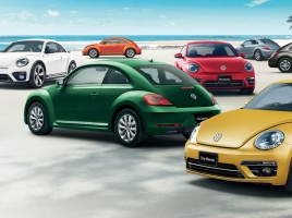 4年ぶりに刷新!!VW、新型「The Beetle」を9月21日から販売開始