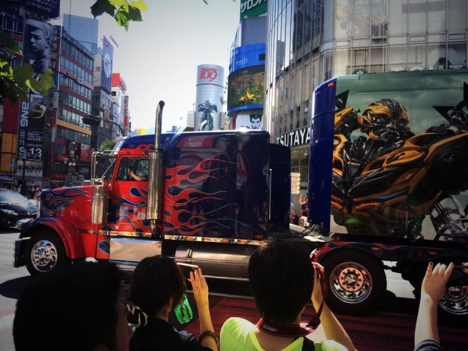 ピータービルト・379モデル・トレーラートラック