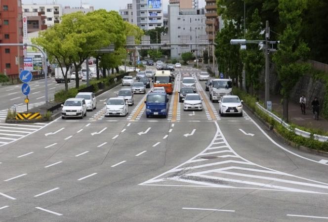 名古屋 道路 5車線
