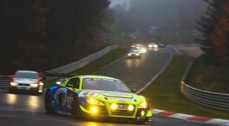 ニュルブルクリンクサーキット北コース(Audi R8 LMS ultra)