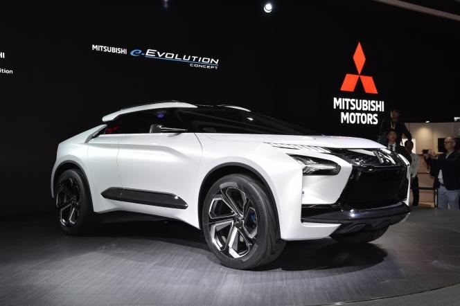 【東京モーターショー2017】三菱 e-EVOLUTION CONCEPT