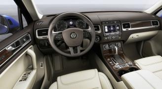 VW Touareg インテリア