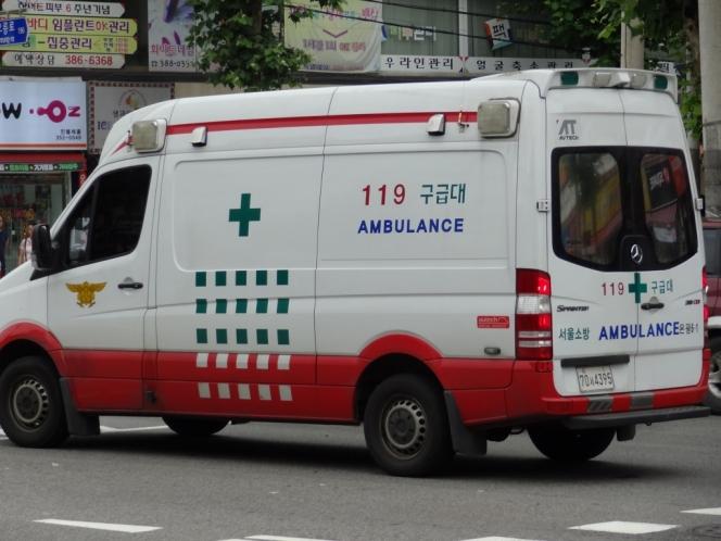 韓国の救急車