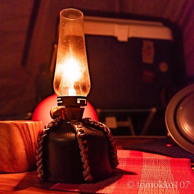 ランタン CAMPのガス