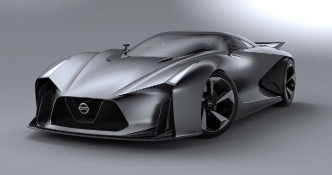 グラン・ツーリスモに似た外観と予想される新型GT-R