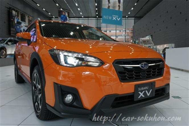 スバル XV 2017