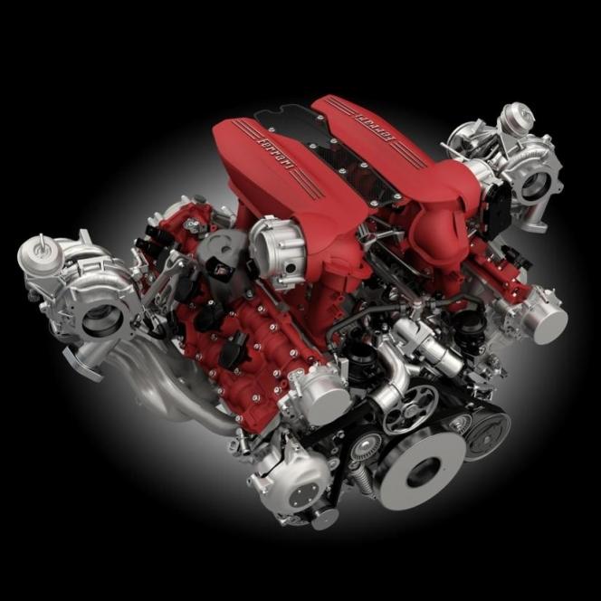 フェラーリ ダウンサイジングエンジン