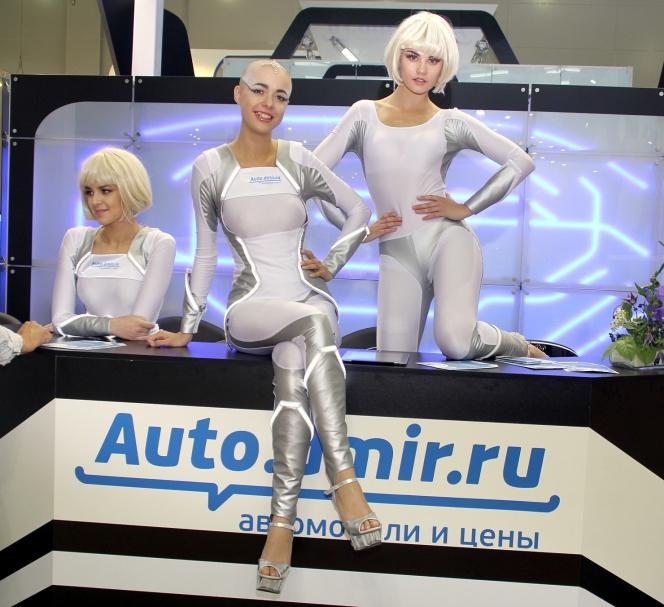モスクワモーターショー コンパニオン14