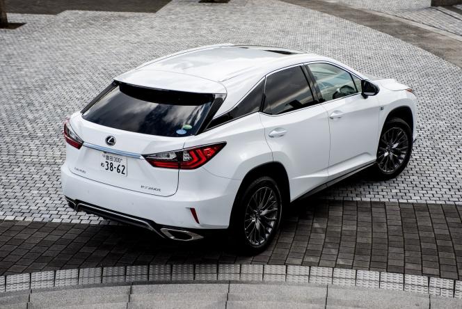 2015 Lexus RX200t F-Sport