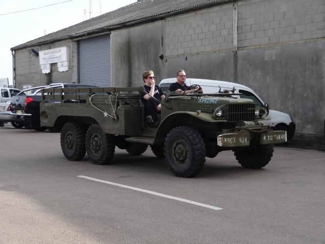 6WD軍用トラック