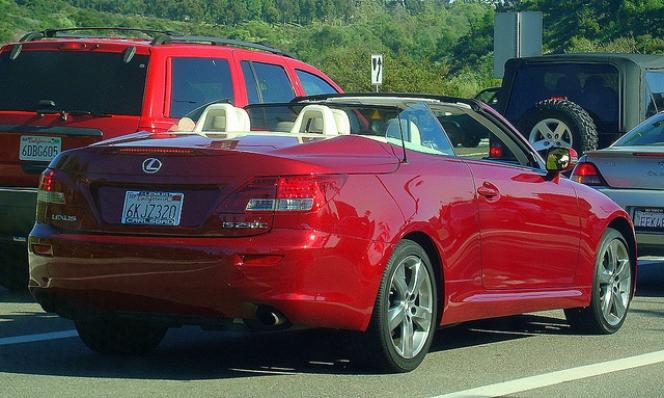 Lexus 250C Convertible