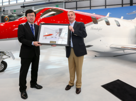 ホンダ、小型ビジネスジェット機「ホンダ ジェット」を欧州で引き渡し開始!