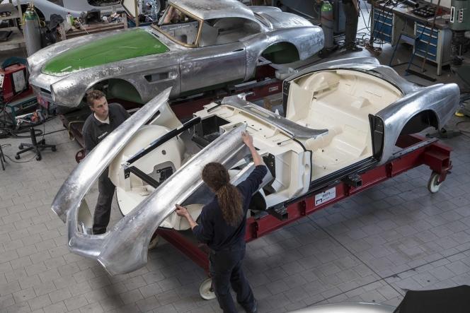 BMW 507 レストア