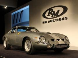 総額150億円超!クラシックカーオークション落札価格ベスト10、10台中9台がフェラーリに