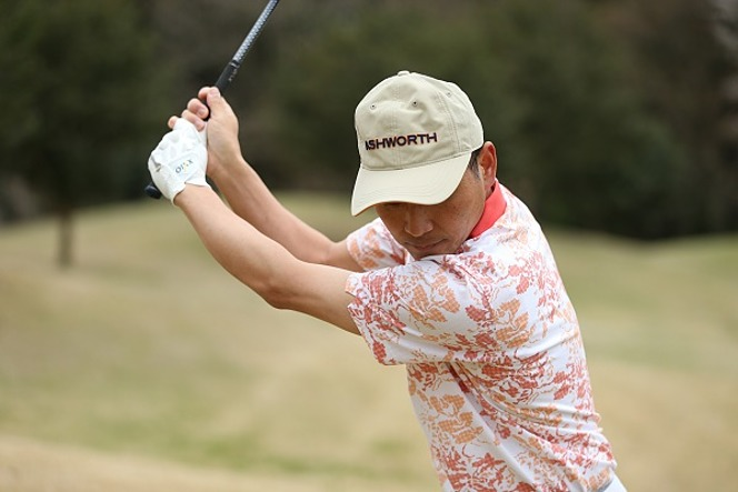 ゴルフ トップ位置
