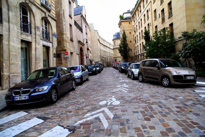 フランス市街地