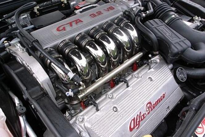 アルファロメオのV6エンジン