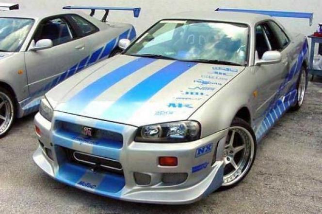 日産スカイライン GT-R BNR34