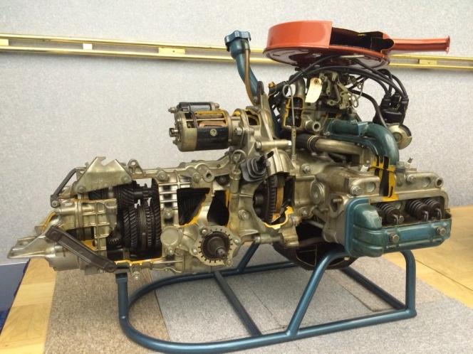スバル 1000のエンジン