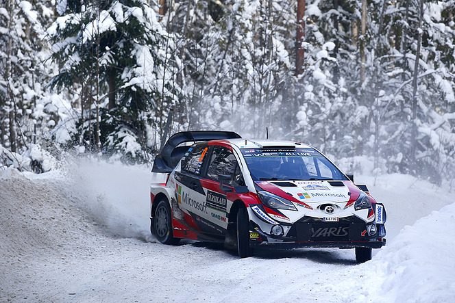 WRC 雪上