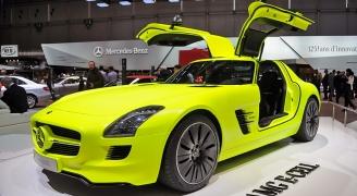 Mercedes SLS AMG E-CELL③