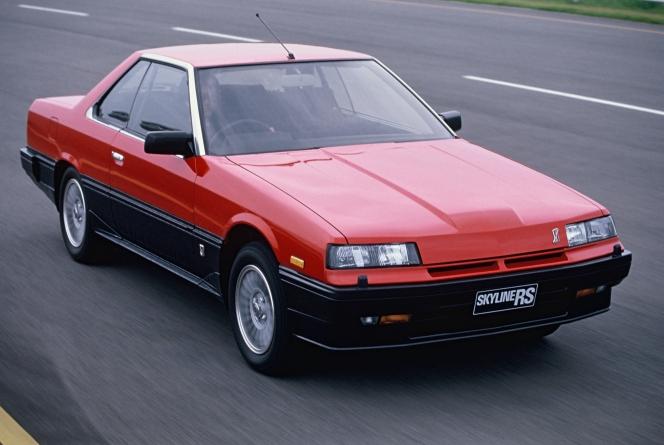 スカイライン ターボRS·X 1984
