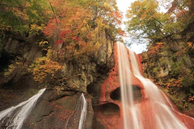 白根山、嫗仙の滝