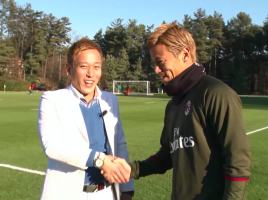 TOYO TIRES、サッカーファンの夢をサポート!! 本田選手とじゅんいちダビッドソンさんが史上初コラボ!?