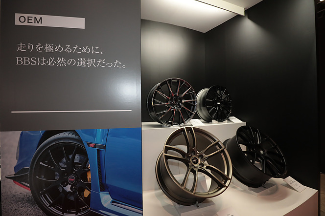 【東京オートサロン2019】BBS