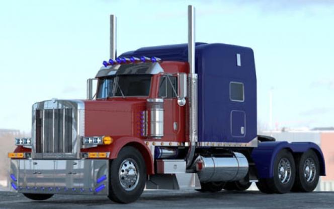 オプティマス・プライム (Optimus Prime) ピータービルト・379