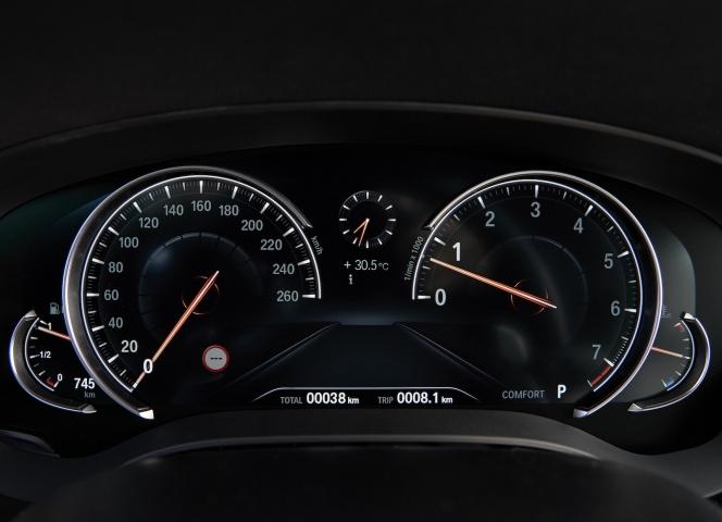 BMW メーター