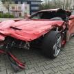 大破したフェラーリ F12ベルリネッタが1000万円で販売…事故車のフェラーリの価格はどれくらい?