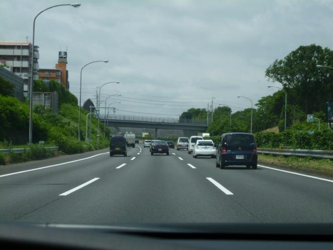 高速道路3車線