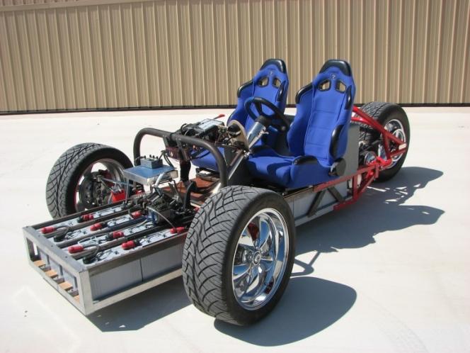 自作電気自動車??