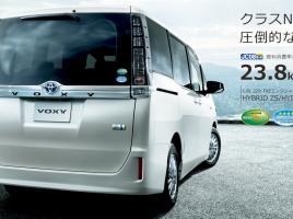 走行状況に応じて自動で最適化!ハイブリッドシステムを搭載したトヨタ「VOXY」の走行性能はいかなるものか?