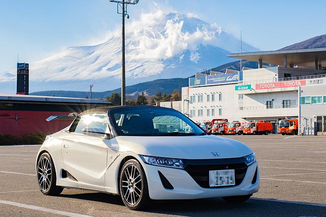 ホンダ S660(栗原祥光撮影)