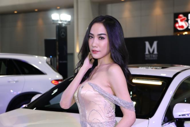 bangkok autosalon キャンギャル