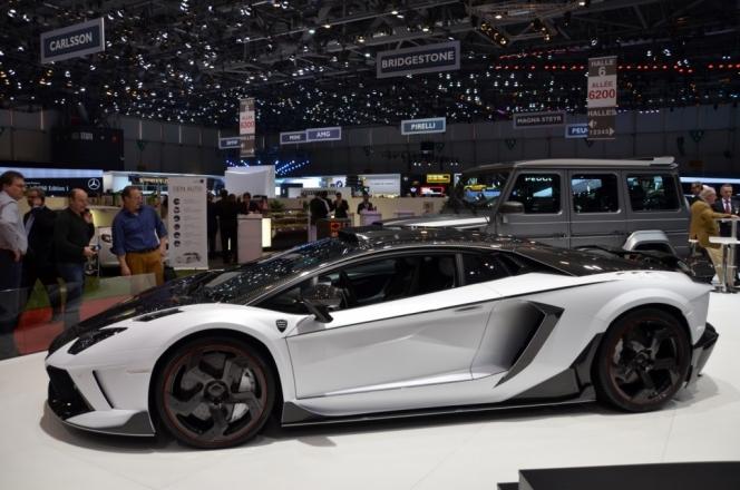 Aventador by Mansory